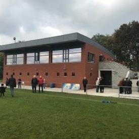 Inauguration des nouvelles infrastructures du Club JS Chênée.